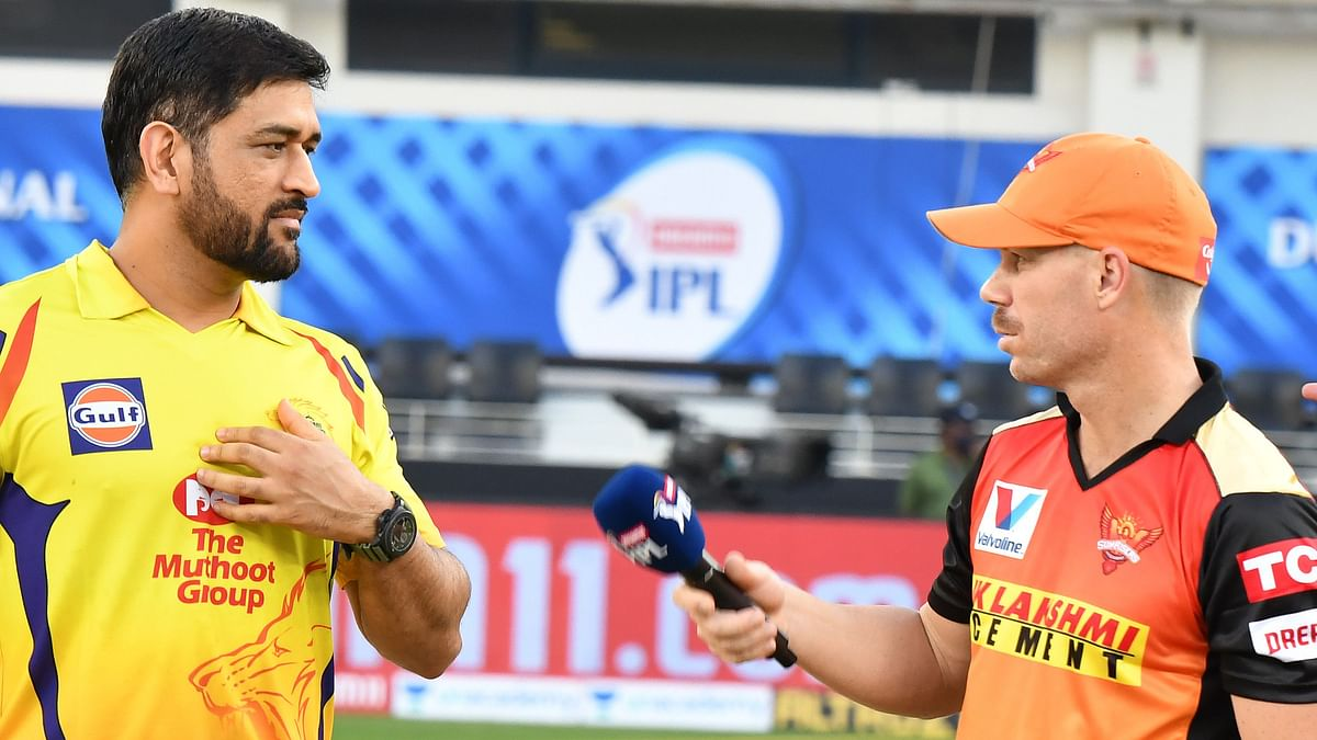 Chennai Super Kings (CSK) are playing Sunrisers Hyderabad (SRH) in a return fixture of the 2020 Indian Premier League (IPL).
