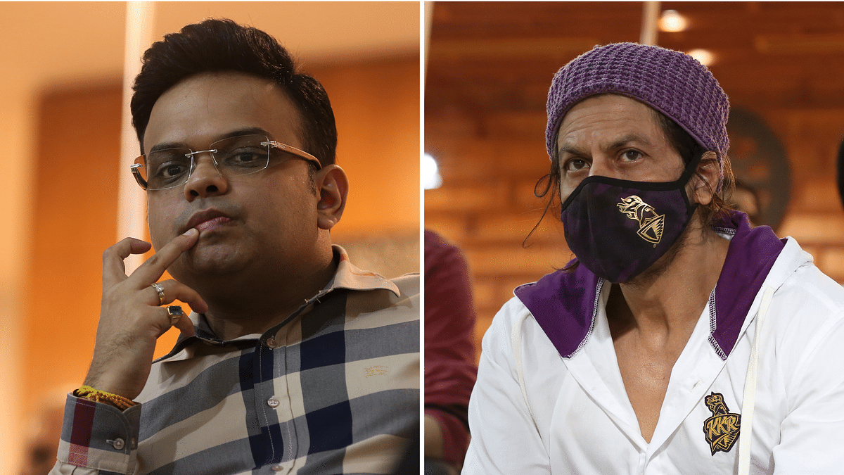 In Pics: SRK & Jay Shah Watch From The Stands as RCB beat KKR