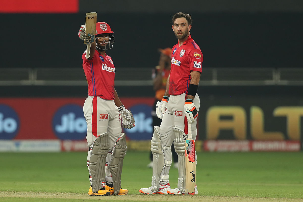No.4 batsman Nicholas Pooran went on to score his maiden IPL fifty off just 17 deliveries.