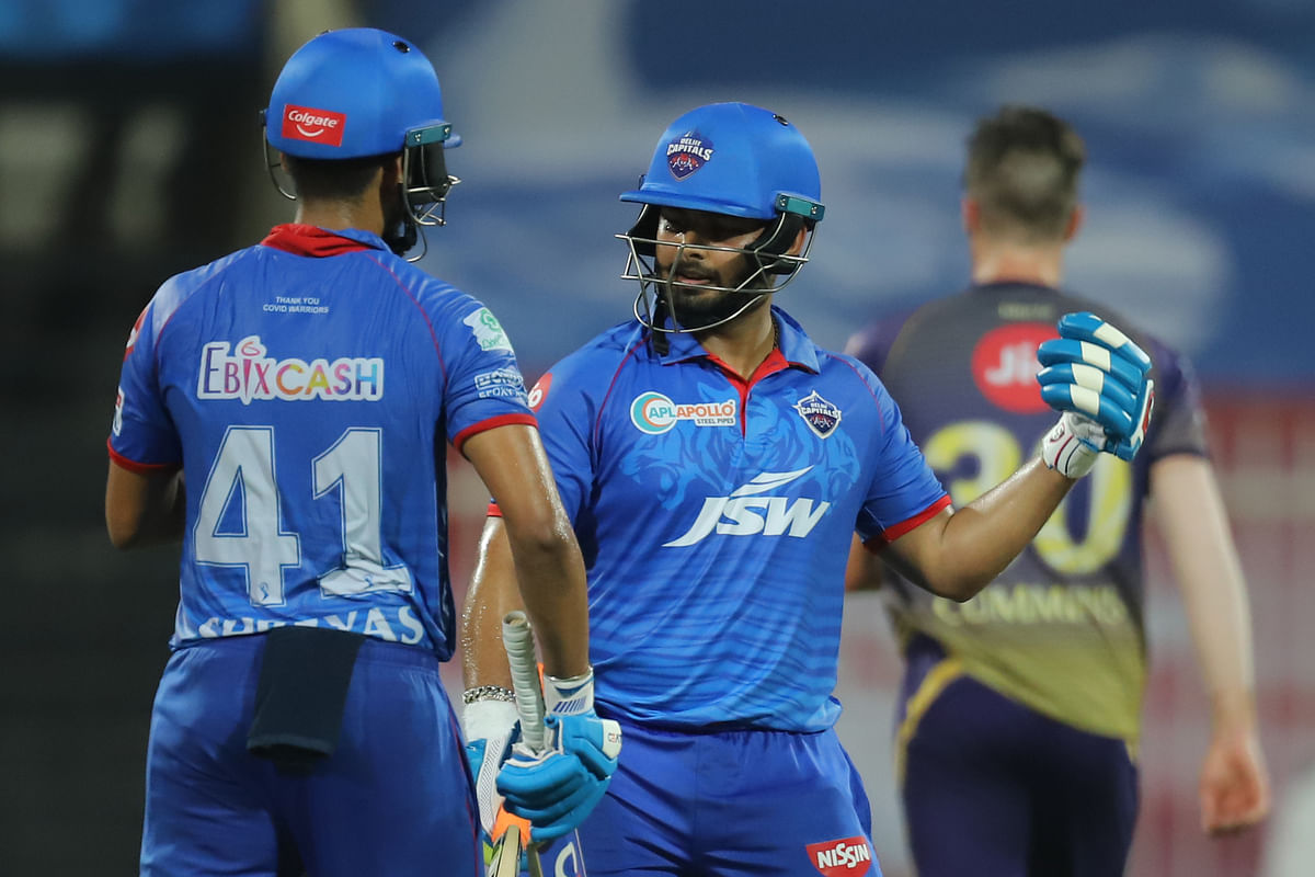 Iyer carried the innings forward with wicketkeeper-batsman Rishabh Pant as the duo added another 72 runs together.