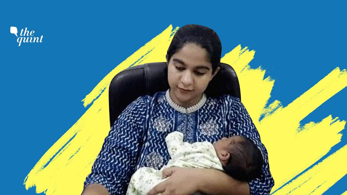A video of IAS Officer Saumya Pandey, working with her baby girl in tow, has gone viral on social media.