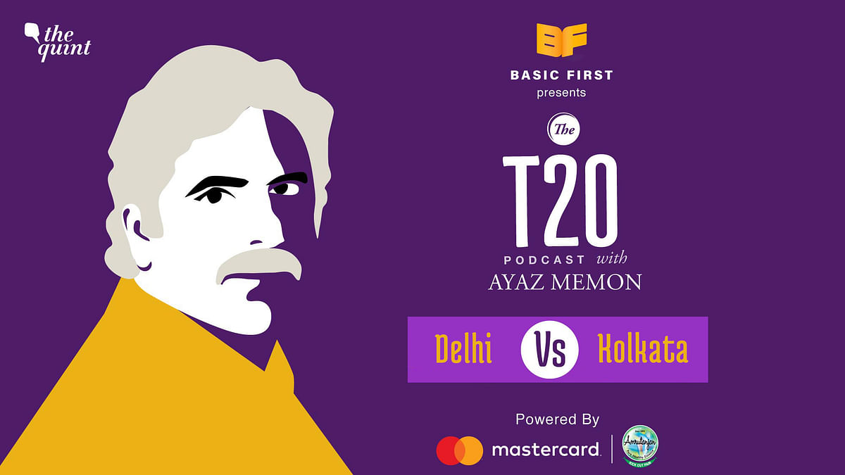 On episode 16 of The T20 Podcast, Ayaz Memon and I talk about Delhi's big win over Kolkata.