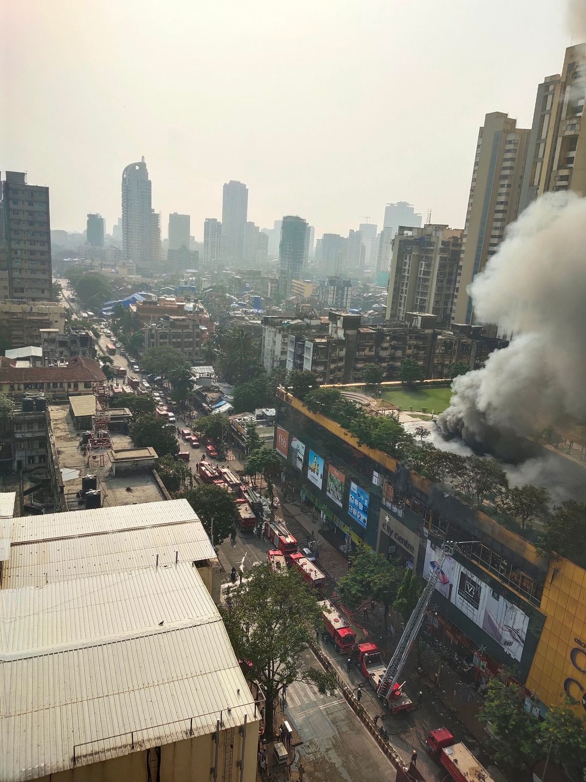 Fire at Mumbai Mall: 5 Personnel Injured, Ops Still Underway