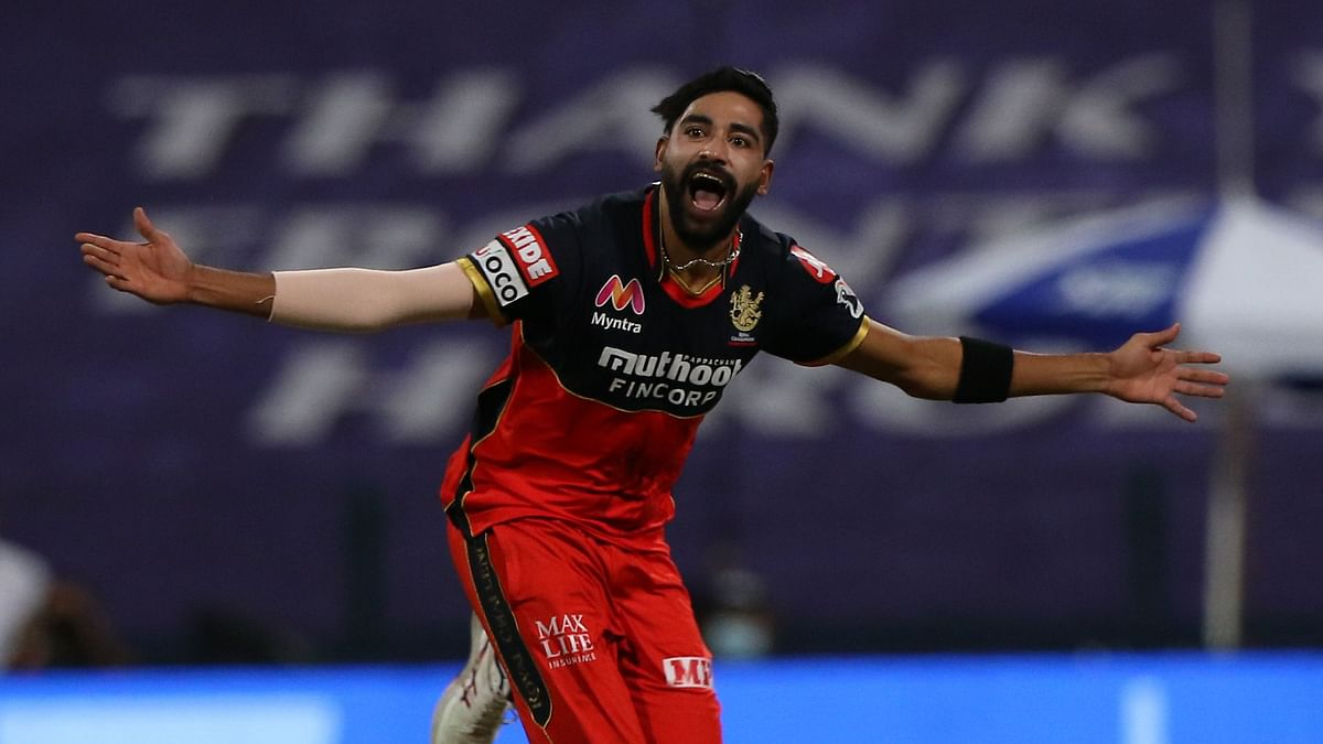 RCB's Mohammed Siraj First Bowler to Bag Double  Maiden in IPL