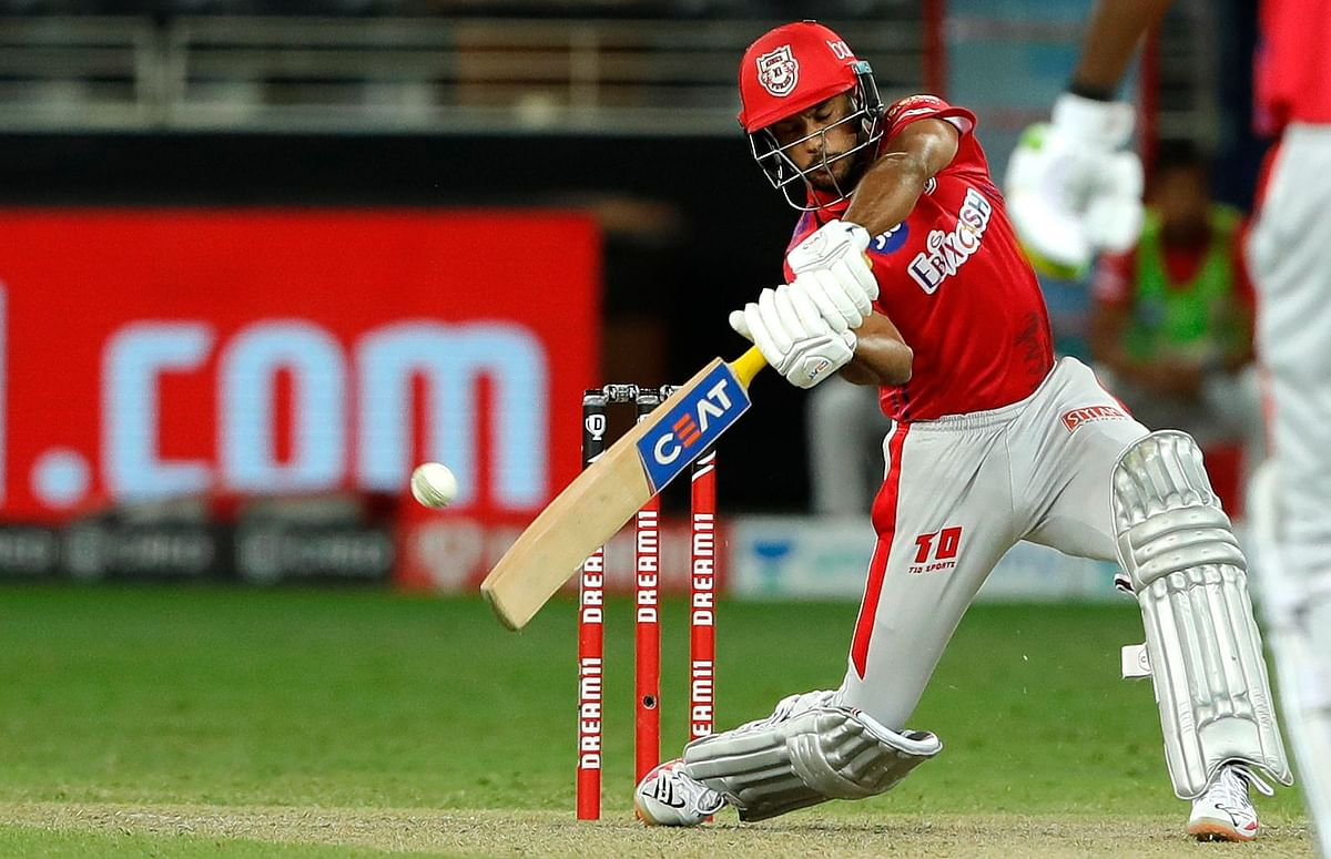 Mayank Agarwal starred with both bat and in the field for Kings XI Punjab in the  super over to take his side home
