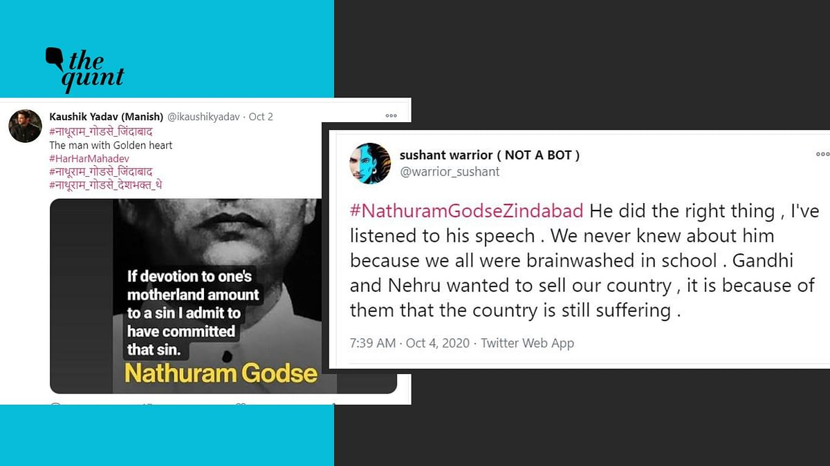 These 'SSR Warriors' Praised Godse on Gandhi Jayanti