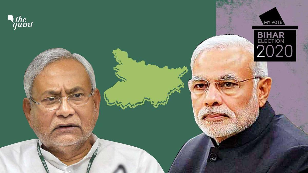 Bihar Chief Minister Nitish Kumar and PM Narendra Modi.