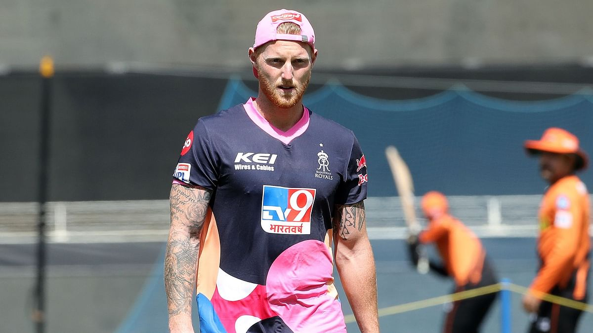 Ben Stokes makes his IPL debut for the Rajasthan Royals against Sunrisers Hyderabad, after missing the early part of the tournament