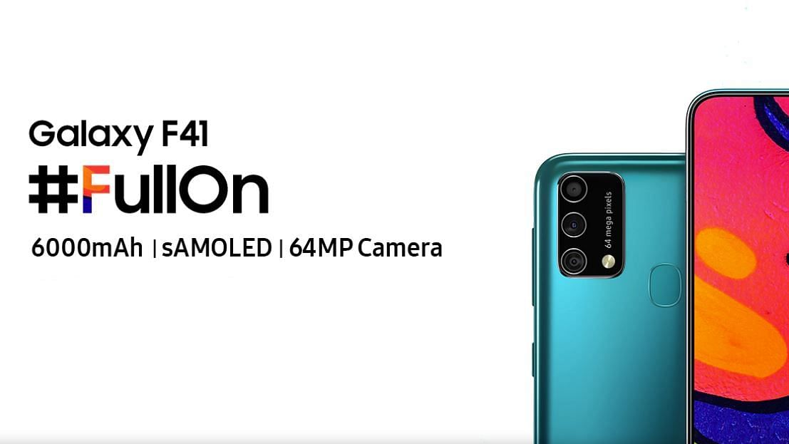 The Galaxy M41 will come with a 6,000mAh battery.