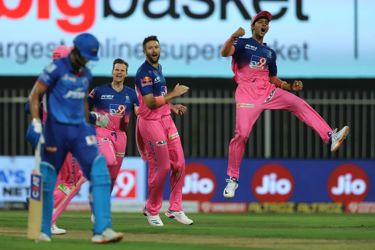 IPL: Clinical Delhi Capitals Claim Top Spot, Beat RR by 46 Runs