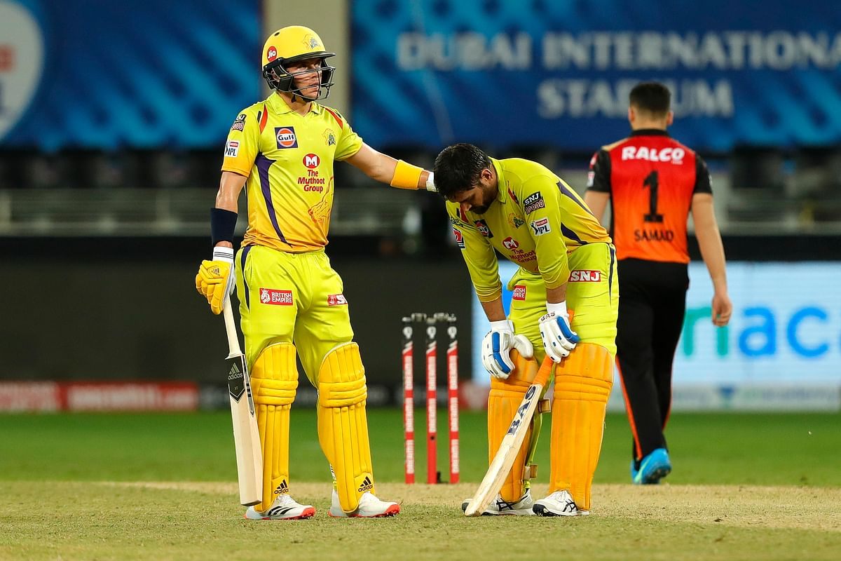 MS Dhoni was seen visibly struggling during the CSK vs Sunrisers Hyderabad match.