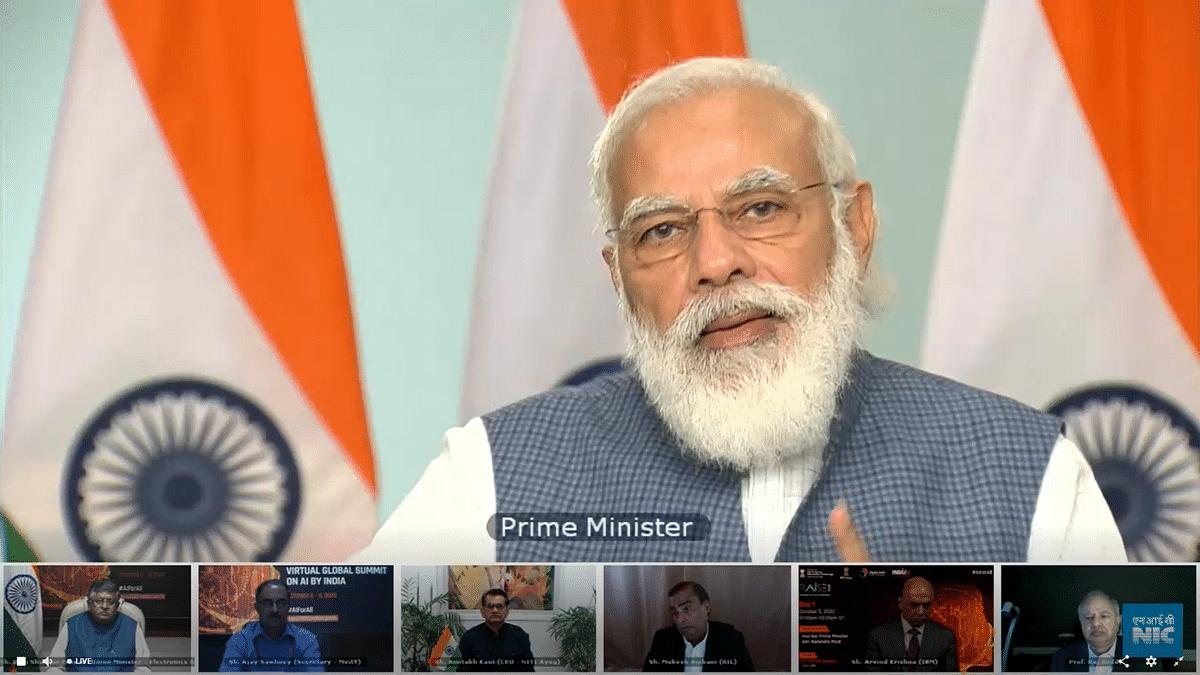 PM Modi speak at the inauguration of RAISE 2020 AI Summit