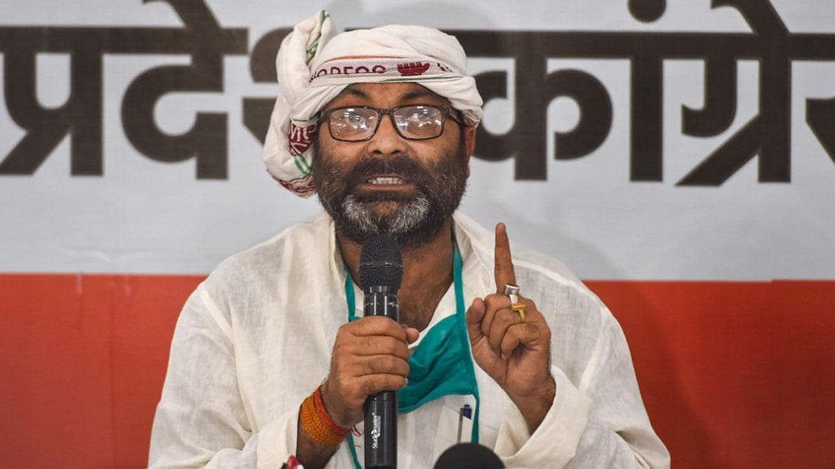 UP Congress Chief Ajay Kumar Lallu.