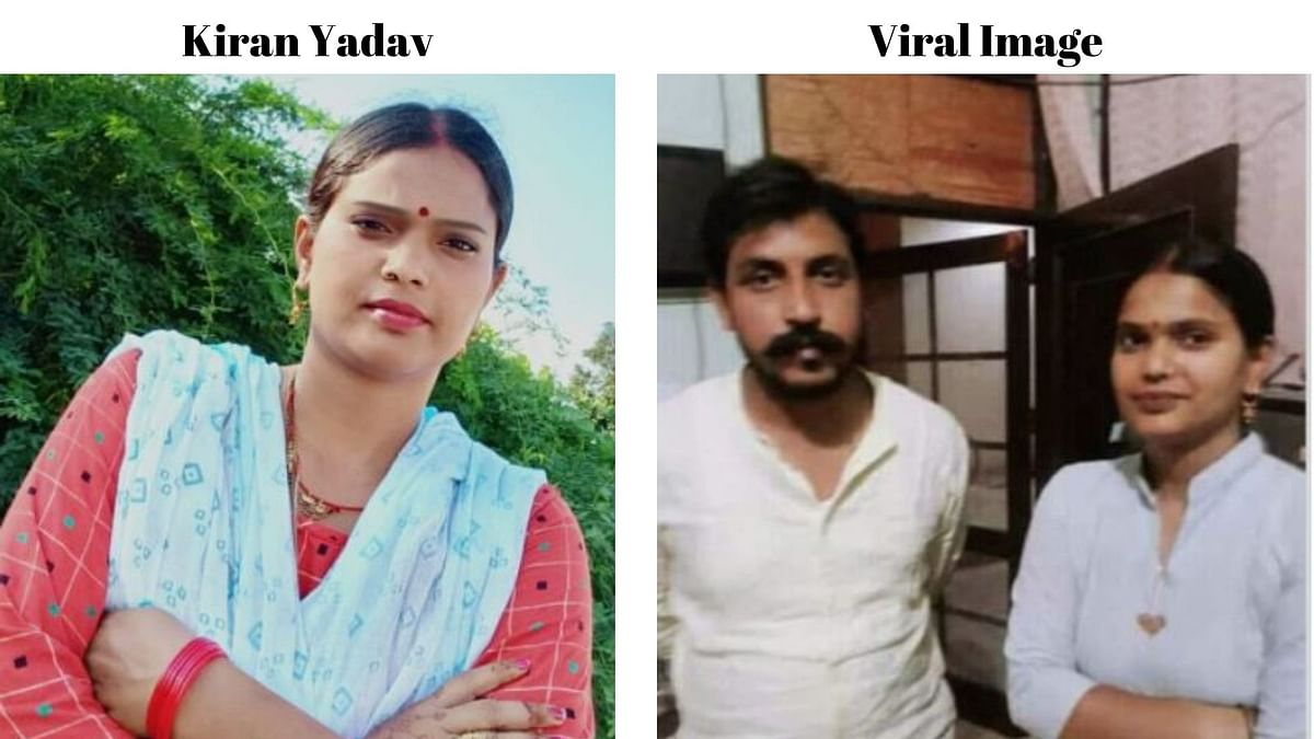 Woman With Azad Misidentified as Hathras' Alleged 'Naxal Bhabhi'