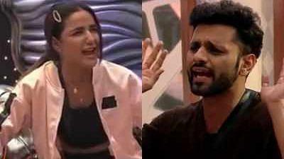 'BB14' Promo: Jasmin Bhasin & Rahul Vaidya Engage in an Ugly Spat