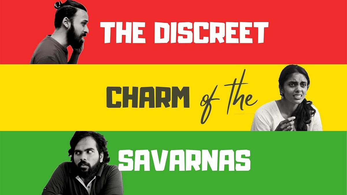 A poster of <i>The Discreet Charm of the Savarnas.</i>