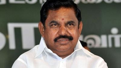 File image of Tamil Nadu Chief Minister Edappadi K Palaniswami.