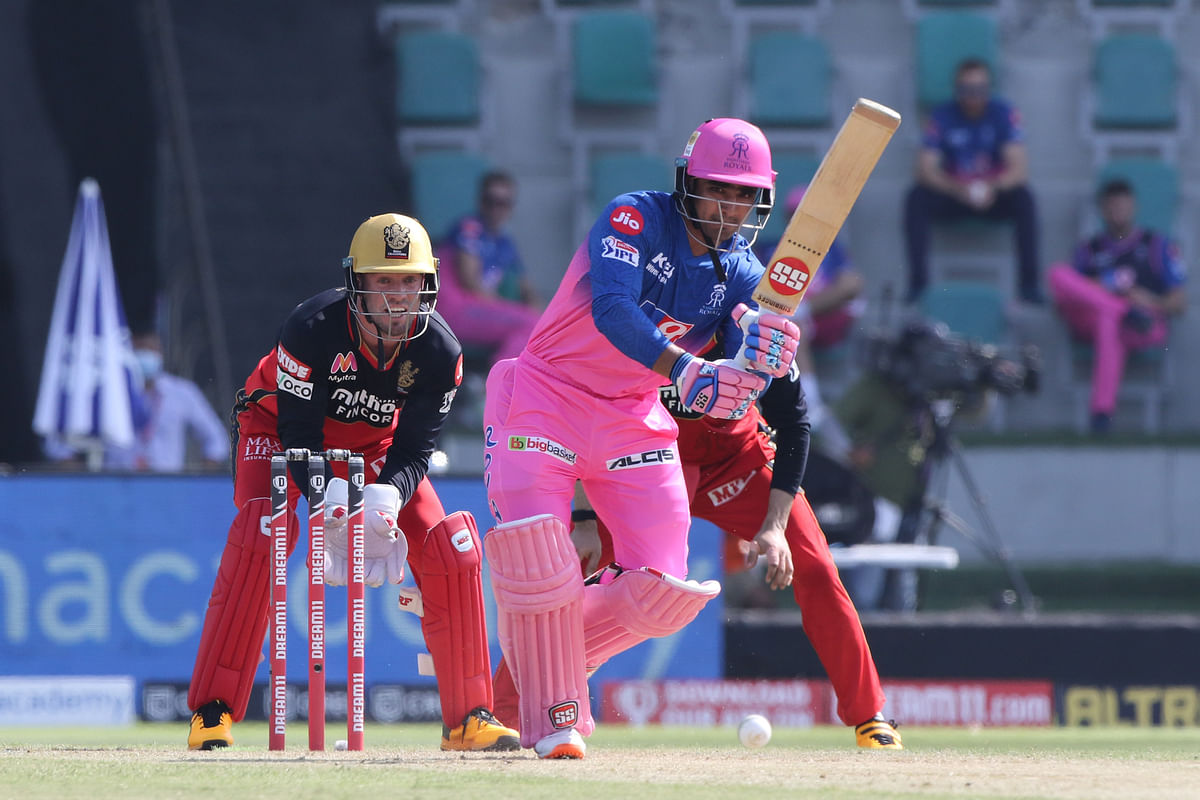Mahipal Lomror felt short of scoring a well-deserved fifty as he lost his wicket while going for a maximum and was caught at long off after scoring 47.