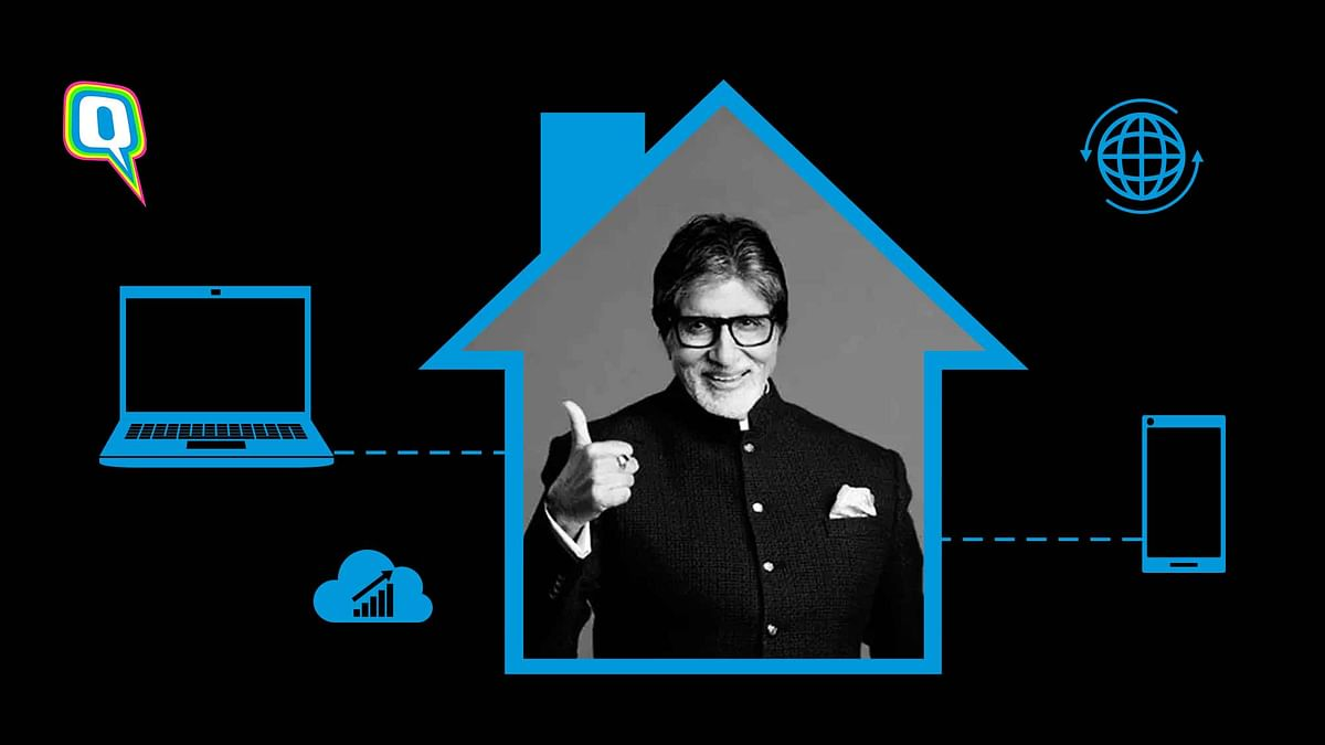 Work From Home Scenes FT. Amitabh Bachchan