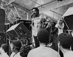 Bobby Seale, the co-founder the Black Panther Party