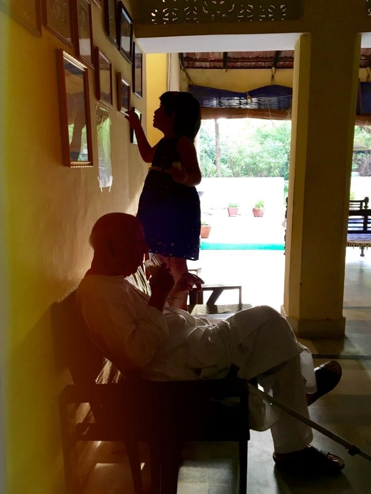 Of love and communal harmony: a vignette from the author's home.
