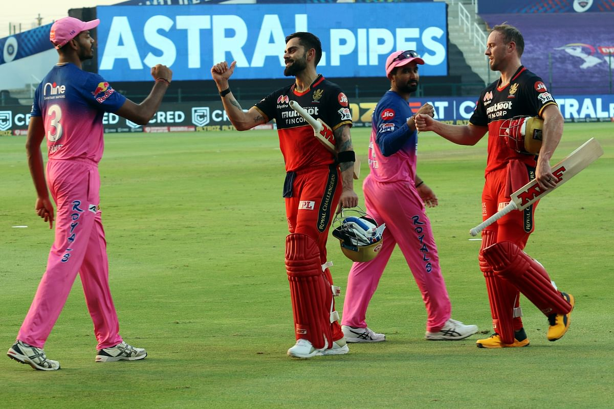 RCB won their previous encounter against RR by 8 wickets at Sheikh Zayed Stadium in Abu Dhabi.