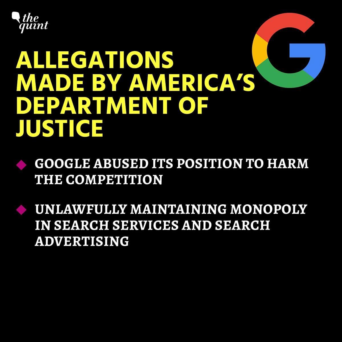 Explained: US Govt's Antitrust Lawsuit Against Google, Its Impact
