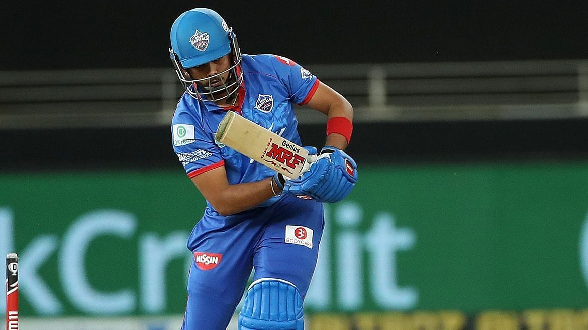 Prithvi Shaw in the last four games has score of 4, 0, 0 and 7.