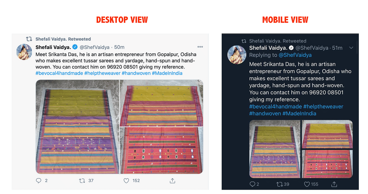 Shefali Vaidya's Tweet on Buying Tanishq Jewellery is Morphed