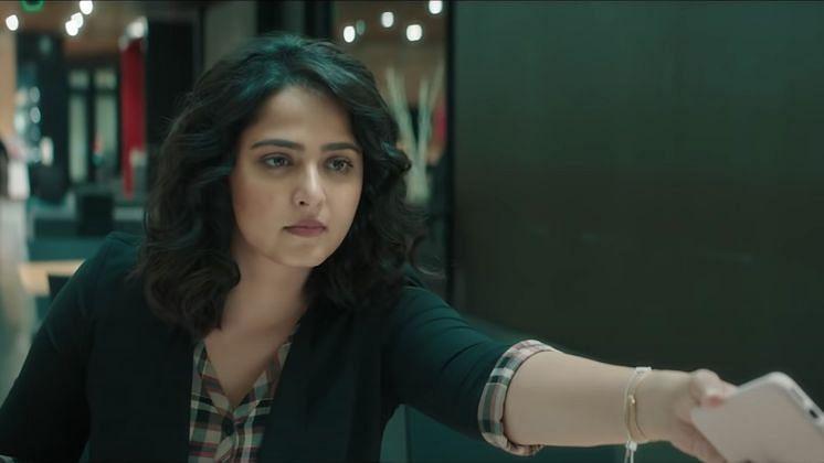 Anushka Shetty in <i>Silence / Nishabdham</i>.