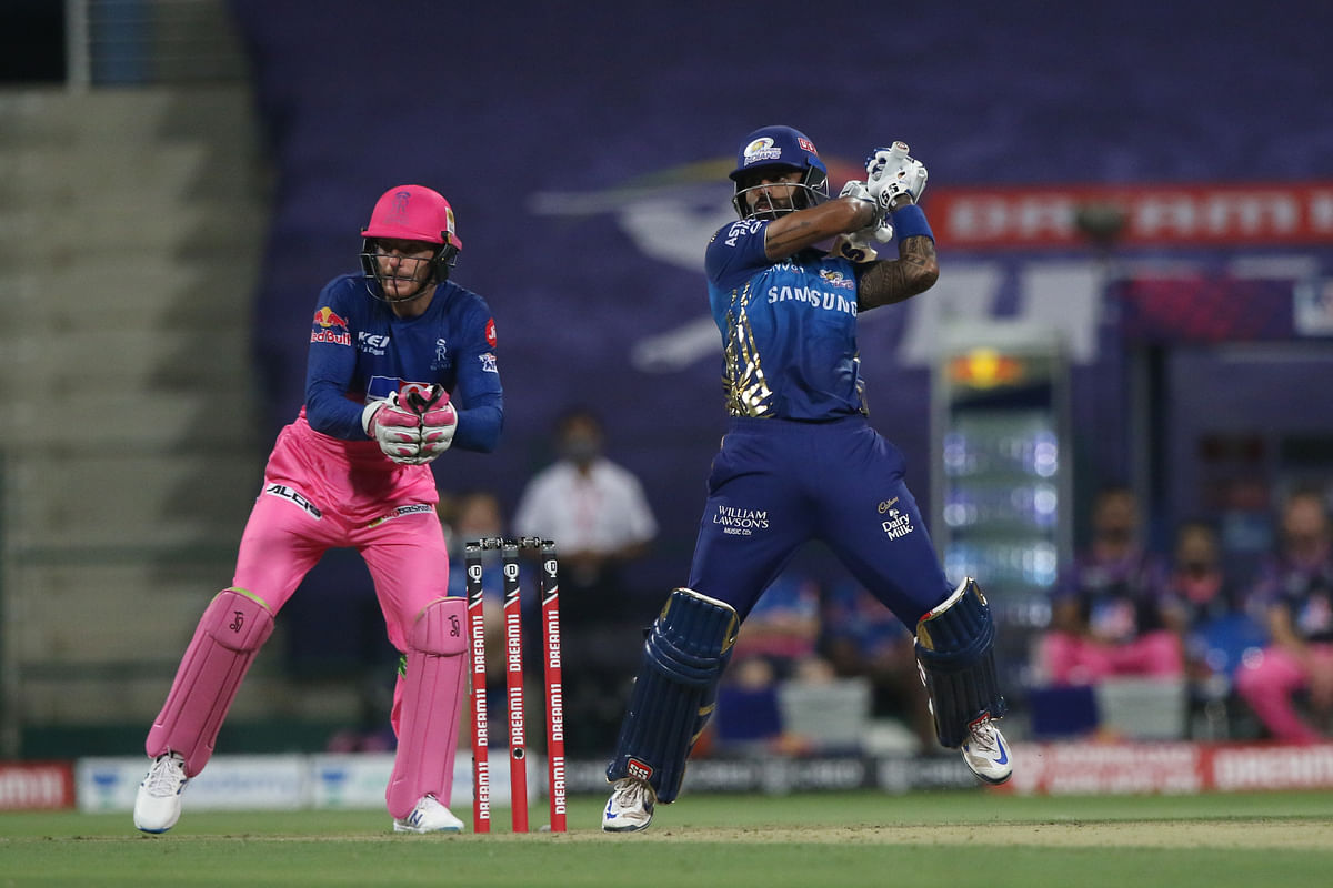 Suryakumar Yadav scored his first half-century of this season off 33 deliveries, and his knock included 11 boundaries and two sixes.