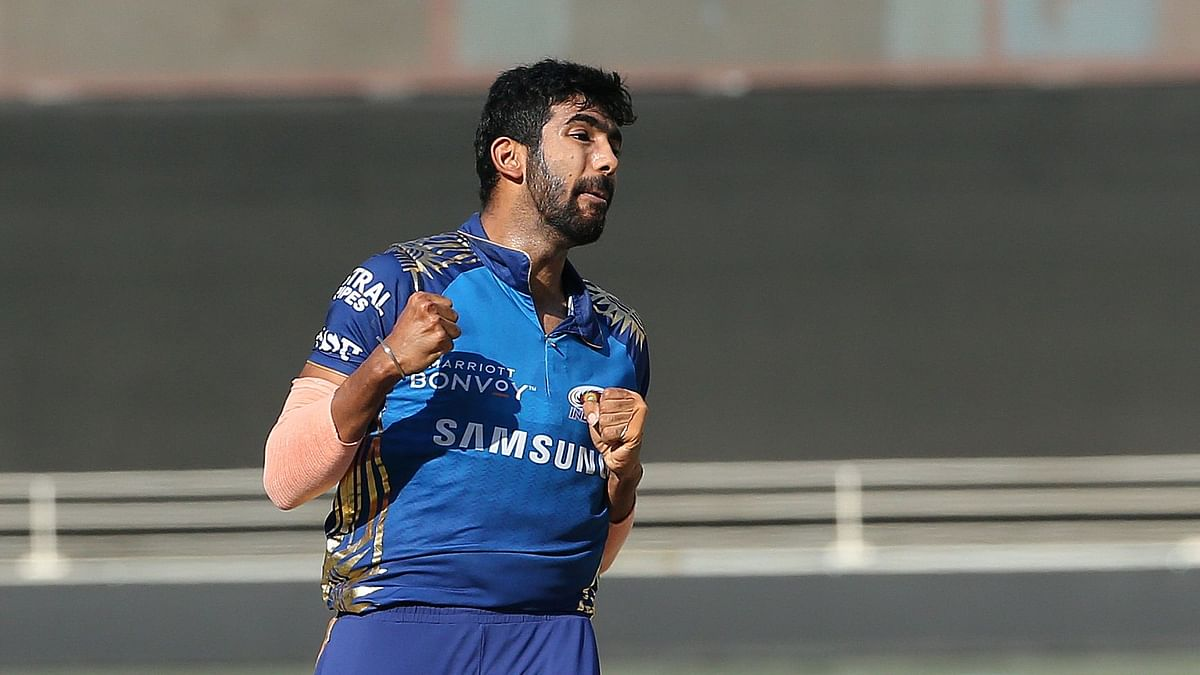 Jasprit Bumrah took three wickets for 17 runs in his four overs against Delhi Capitals to take his wickets tally to 23.