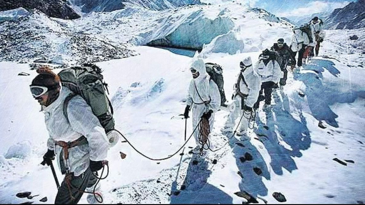 Indian soldiers stationed at Siachen Glacier. Image used for representational purpose.