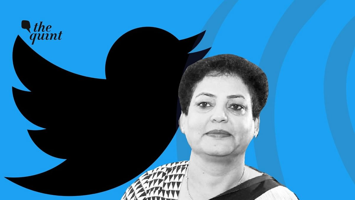 Rekha Sharma has reportedly claimed that her Twitter account was hacked.
