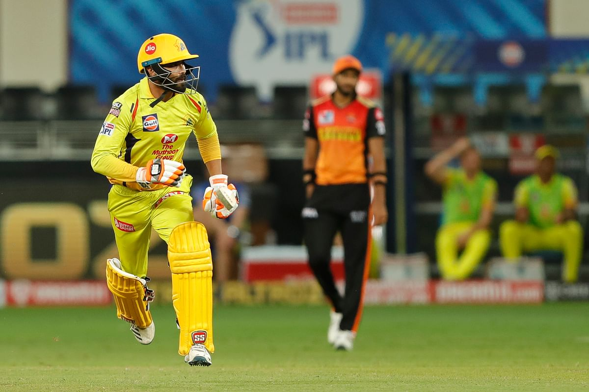 Ravindra Jadeja smashed an unbeaten 10-ball 25* which featured a six and three boundaries.