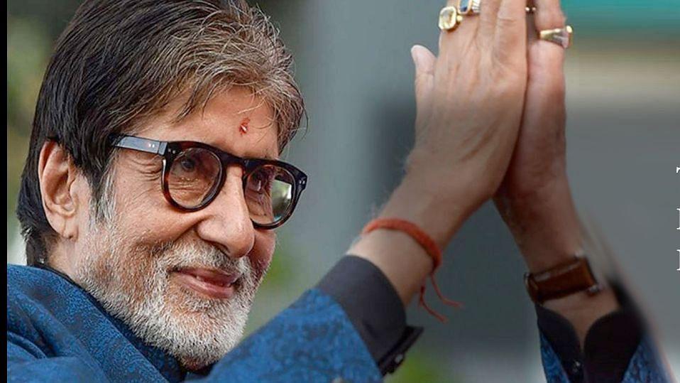 Amitabh Bachchan celebrates his birthday today.