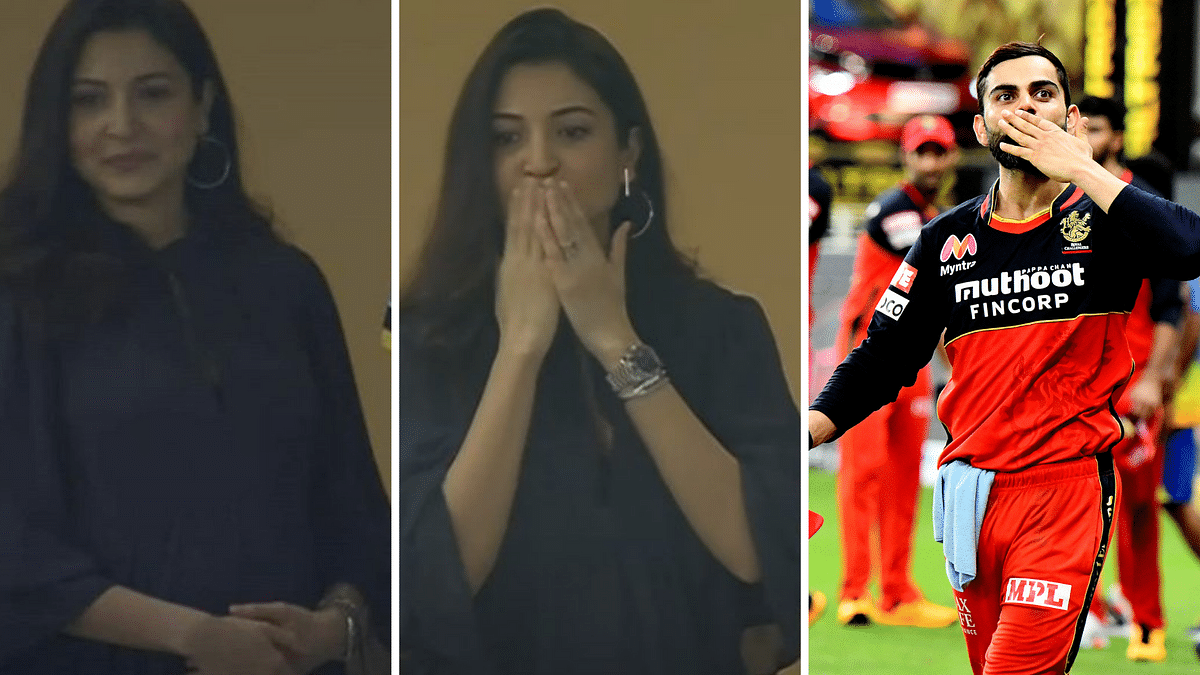 Virat Kohli & Anushka Sharma Share a Sweet Moment After RCB's Win