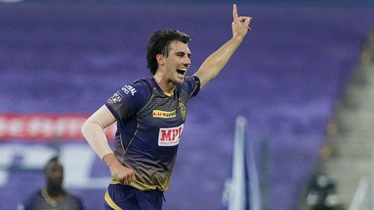 Image result for pat cummins kkr