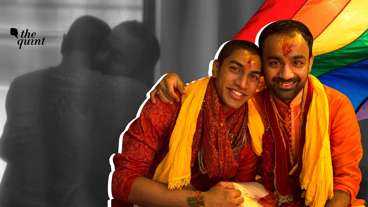Same-Sex Marriage in India: Vivek and Vishwa got married in 2017 and all they want is to legally be recognised as partners.