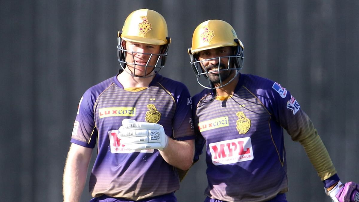 Kolkata Knight Riders posted 163/5 against Sunrisers Hyderabad.