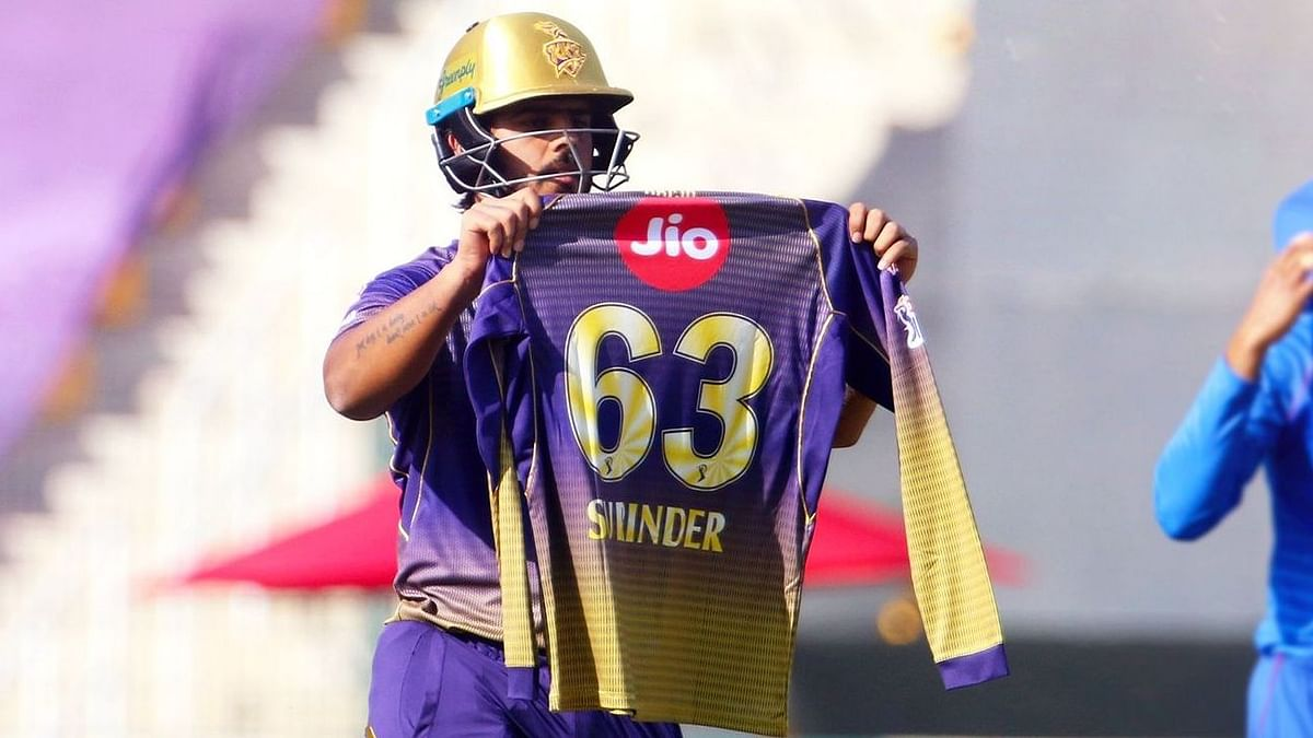 IPL: Nitish Rana Pays Tribute To Late Father-in-Law After His 50