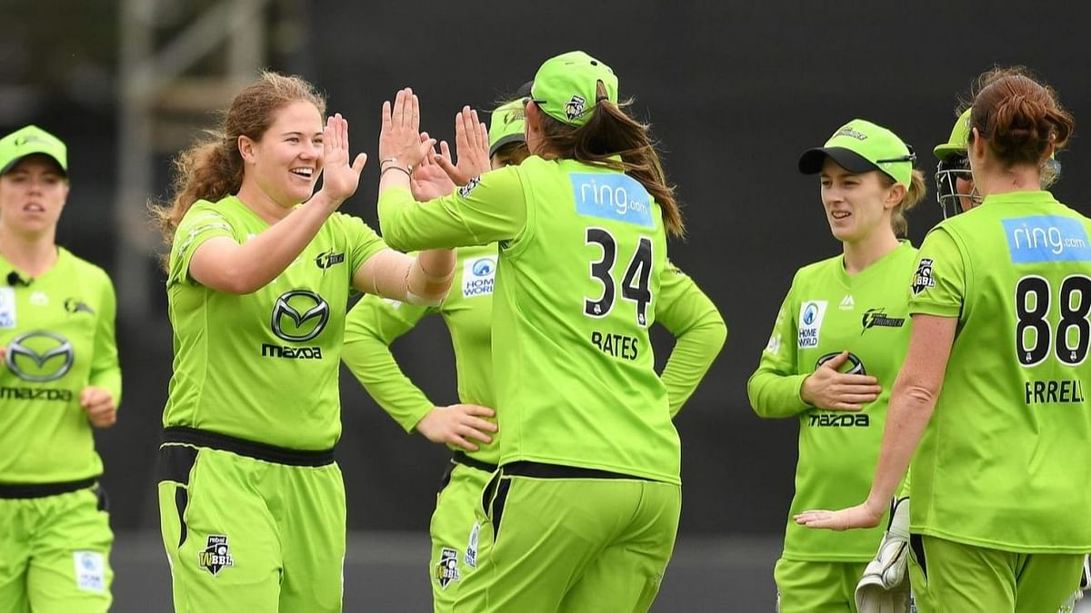 Sydney Thunder Players To Take a Knee Throughout WBBL 6