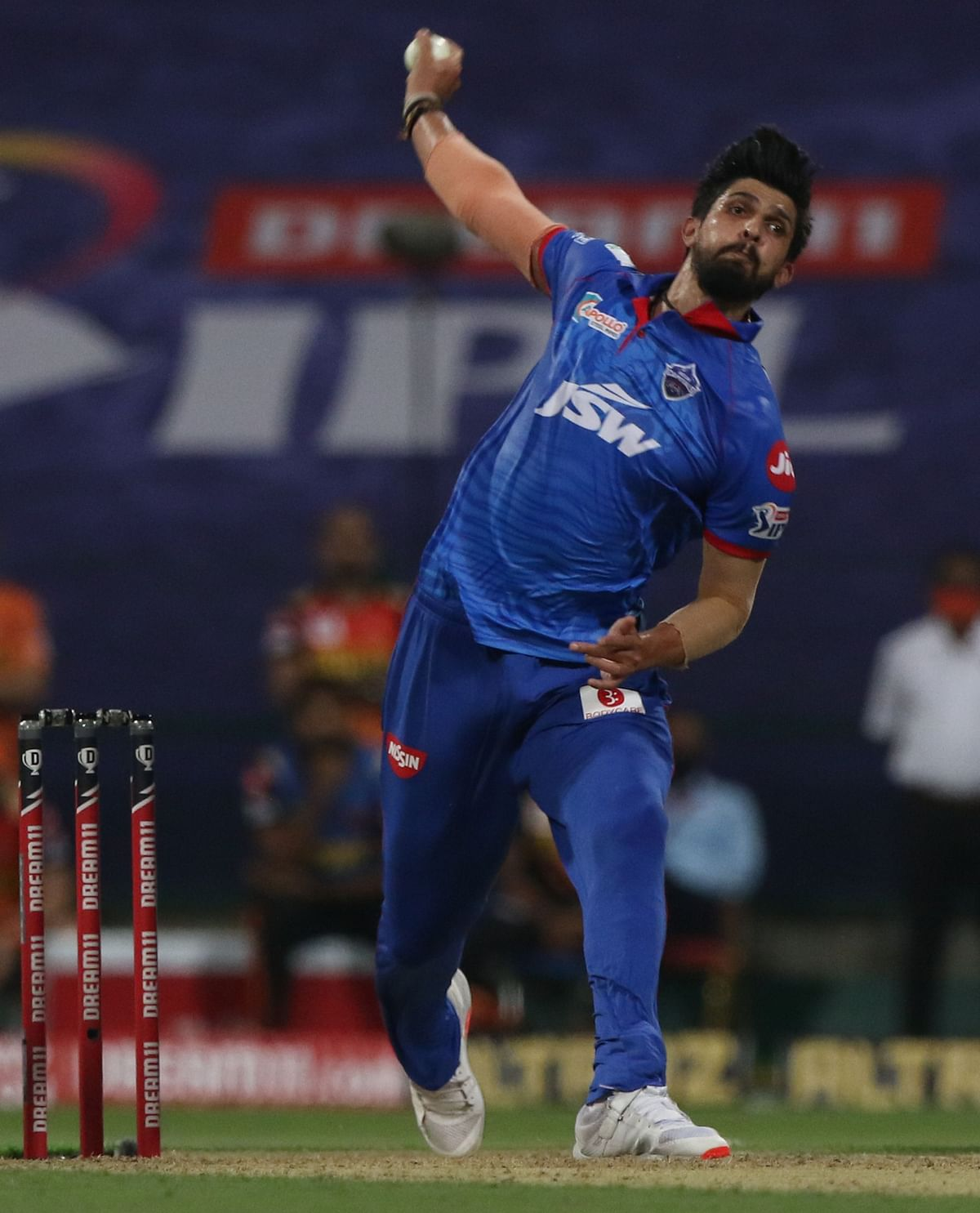 Delhi Capitals' pacer Ishant Sharma injured himself in the training before the start of the IPL
