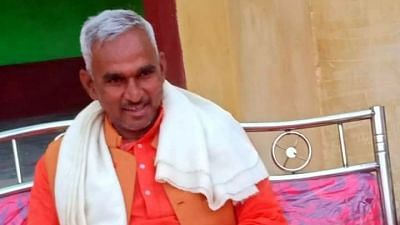 Uttar Pradesh BJP MLA Surendra Singh.