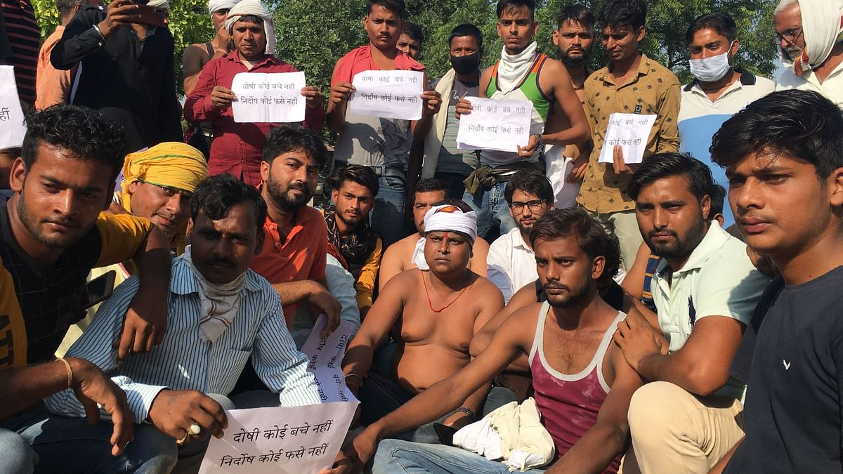 BJP Leader, Right Wing Outfits Rally in Support of Hathras Accused