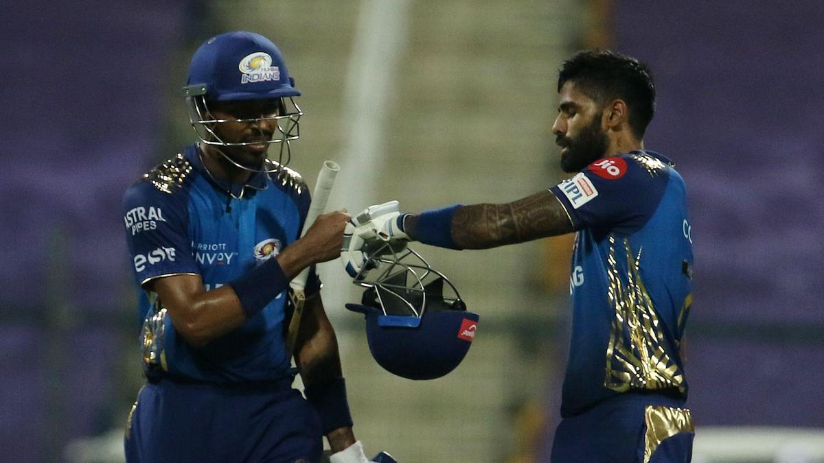 Suryakumar Yadav scored a 47-ball 79 – his highest score in the Indian Premier League – to help Mumbai Indians post 193/4.