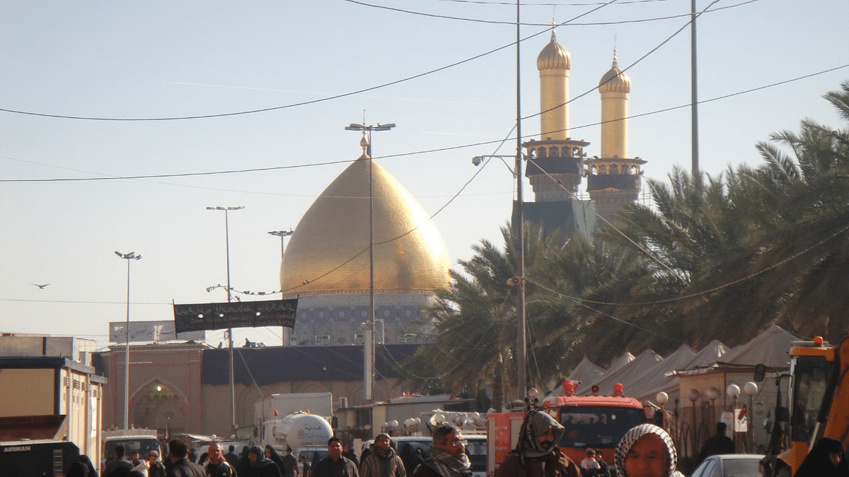 Shrine of Hazrat Abbas