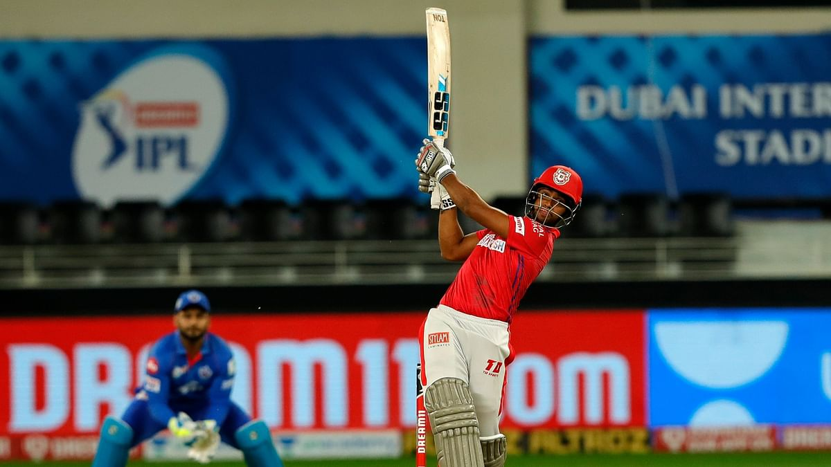 Nicholas Pooran played a blistering knock of 53 off 28 balls, to help KXIP chase down DC's 164.