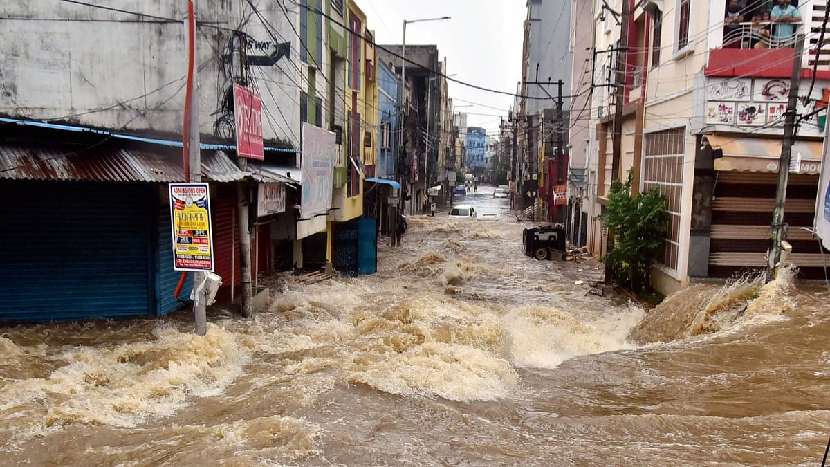 Hyd Residents Pick up Pieces As Floods Wash Away Life Earnings