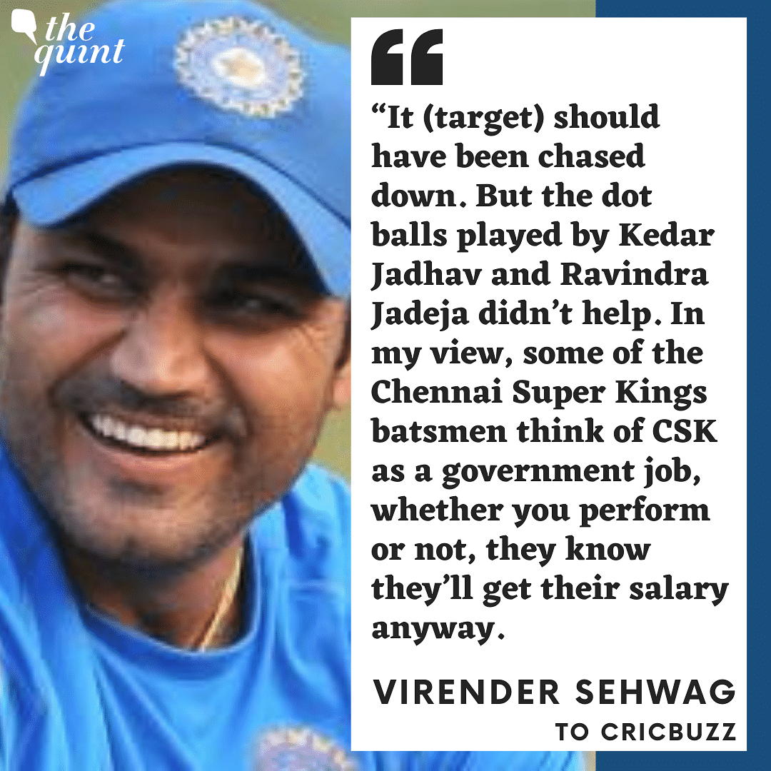 Some Batsmen Think of CSK as a Government Job: Virender Sehwag